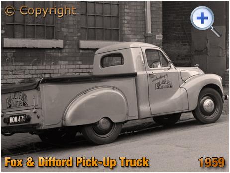 Austin A40 Pick-Up of Fox & Offord of Alma Street in Birmingham [1959]