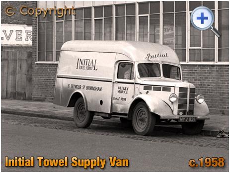 Bedford M Type Laundry Van in Birmingham [c.1958]
