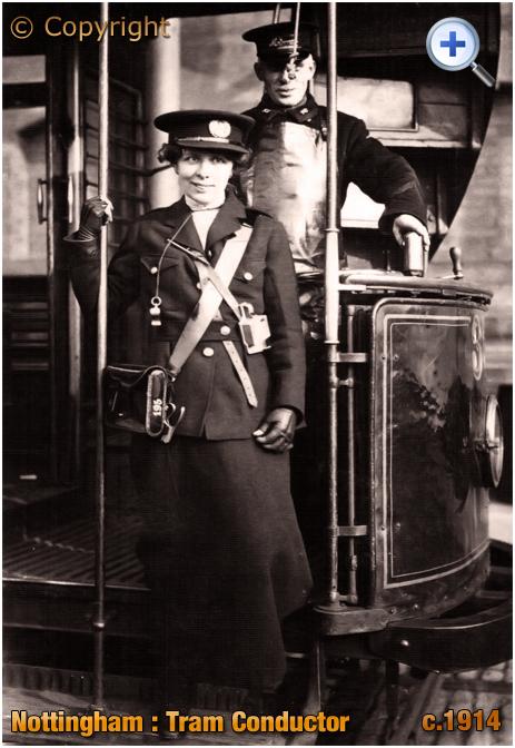 Nottingham : Tram Conductor [c.1915]