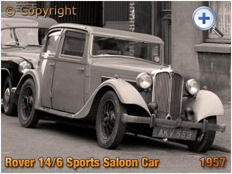 Rover 14/6 Sports Saloon Car AKV 559 [1957]