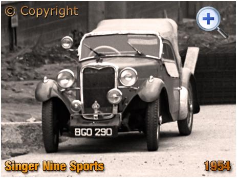 Singer Nine Sports Car BGO 290 [1954]