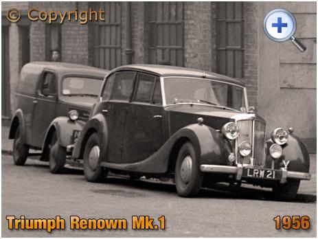 Triumph Renown Mk I Saloon Car LRW 21 [1956]