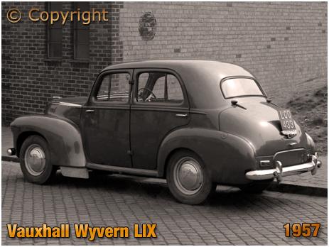 Vauxhall Wyvern LIX LOC 433 parked in Summer Lane at Birmingham [1957]