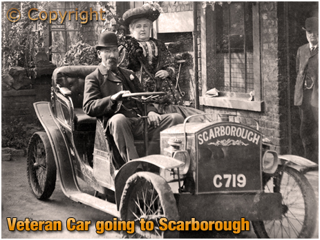 Veteran Car Heading To Scarborough