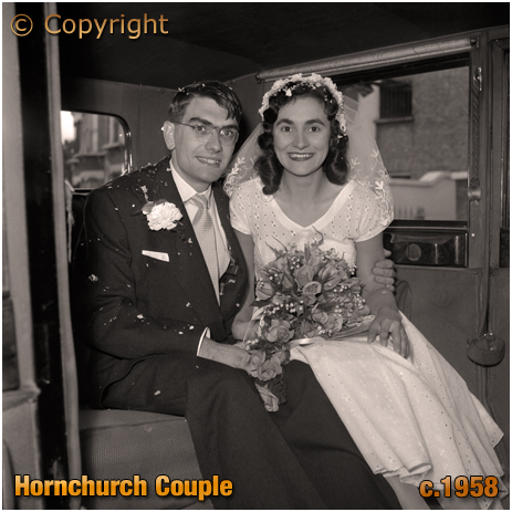 Wedding of Brown of Hornchurch [c.1958]