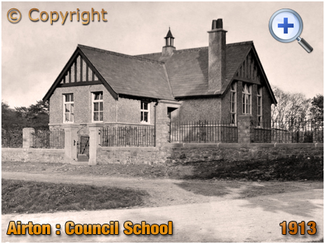 Yorkshire : The Council School at Airton [c.1913]