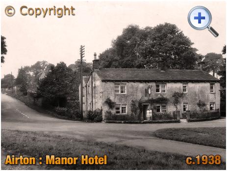 Yorkshire : Manor Hotel at Airton [c.1938]
