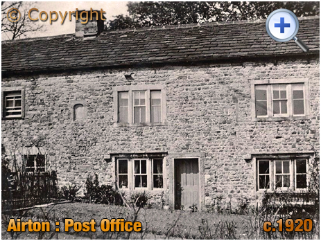Yorkshire : The Post Office at Airton [c.1920]