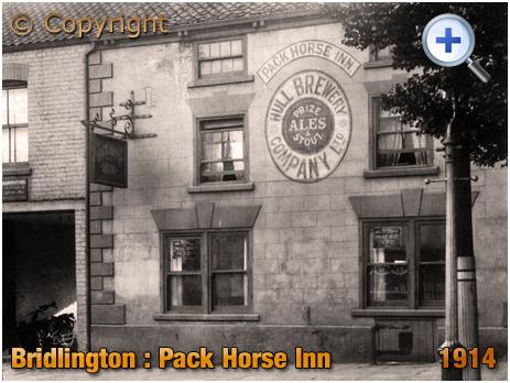 Yorkshire : The Pack Horse Inn at Bridlington [1914]