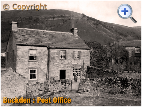 Yorkshire : The Post Office at Buckden [1910]