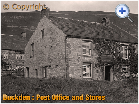 Yorkshire : The Post Office and Stores at Buckden [c.1920]