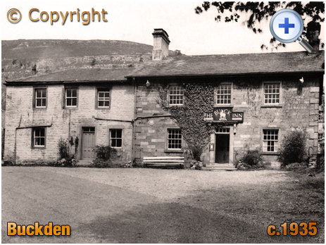 Yorkshire : The Buck Inn at Buckden in Upper Wharfedale [c.1935]