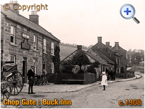 Yorkshire : The Buck Inn at Chop Gate in the North Riding [c.1908]