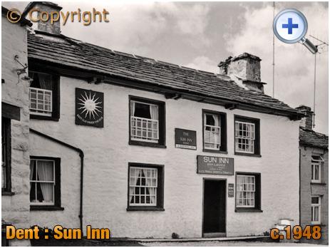 Yorkshire : The Sun Inn at Dent [c.1948]