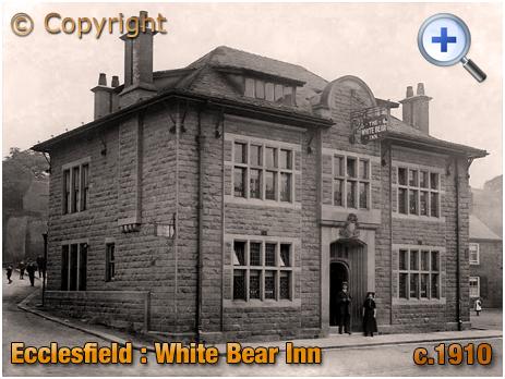 Yorkshire : The White Bear Inn at Ecclesfield [c.1910]