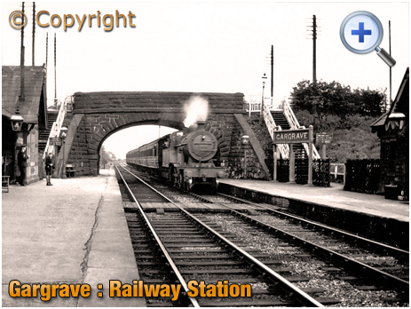 Yorkshire : Gargrave Railway Station [c.1948]