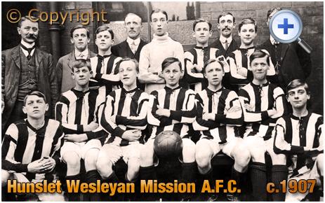Yorkshire : Hunslet Wesleyan Mission A.F.C. at Leeds [c.1907]
