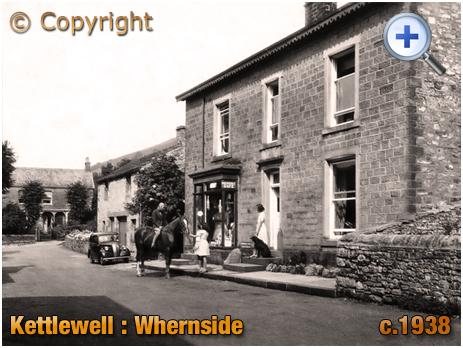 Yorkshire : Whernside House at Kettlewell [c.1938]