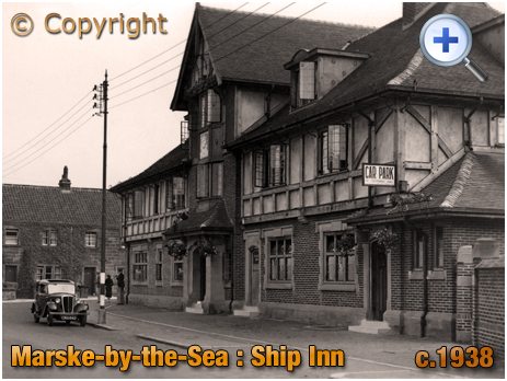 Yorkshire : The Ship Inn at Marske-by-the-Sea [c.1938]