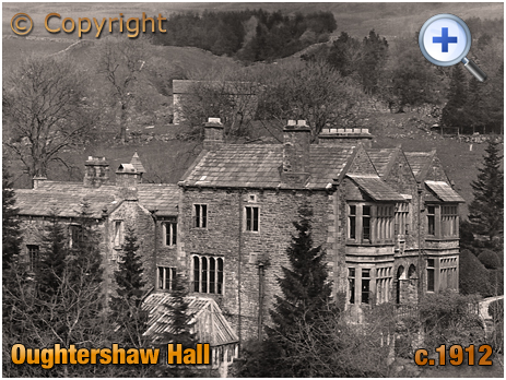 Yorkshire : Oughtershaw Hall at Langstrothdale [c.1912]