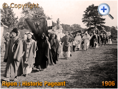 Yorkshire : The Pageant at Ripon Historic Festival [1906]