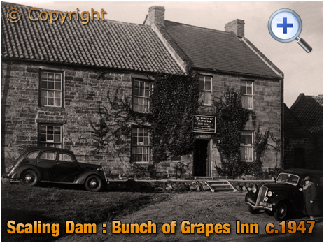 Yorkshire : Bunch of Grapes Inn at Scaling Dam [c.1947]
