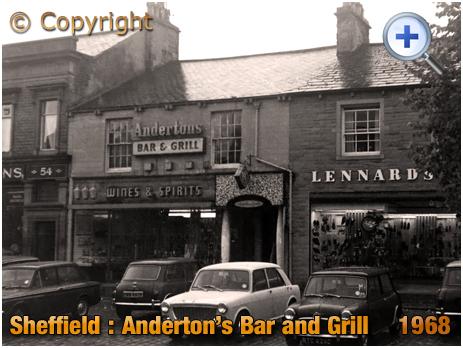 Yorkshire : Anderton's Bar and Grill at Skipton [1968]