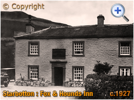 Yorkshire : Fox and Hounds Inn at Starbotton in Wharfedale [c.1927]