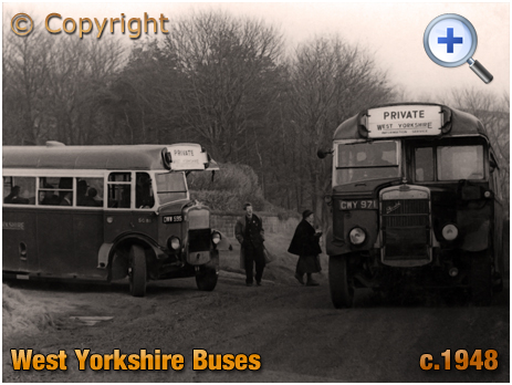 Yorkshire : West Yorkshire Buses [c.1948]