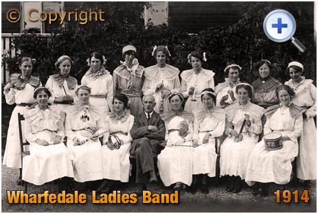 Yorkshire : Wharfedale Ladies Band [c.1914]