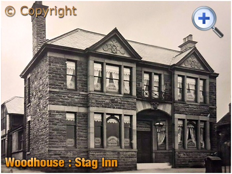 Yorkshire : The Stag Inn at Woodhouse near Sheffield [c.1914]