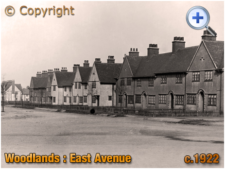 Yorkshire : East Avenue at Woodlands near Adwick le Street [c.1922]