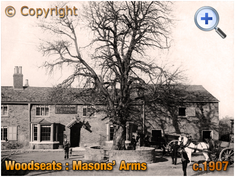 Yorkshire : The Masons' Arms at Woodseats [c.1907]