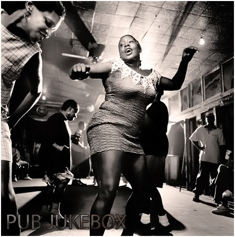 Jukebox Black Woman Dancing