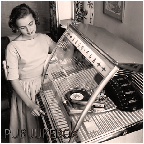 Jukebox Woman Selecting Record