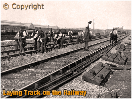 Laying Track on the Railway