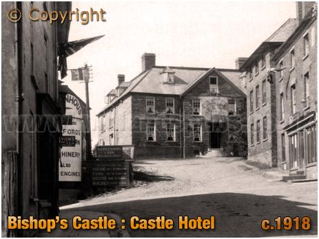 Bishop's Castle : Castle Hotel [c.1918]