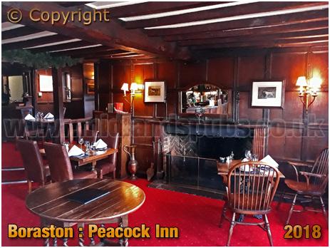 Boraston : Interior of the Peacock Inn [2018]