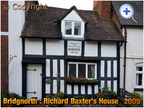 Bridgnorth : Richard Baxter's House [2009]