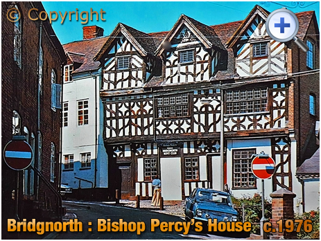 Bridgnorth : Bishop Percy's House on Cartway [c.1976]