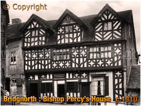 Bridgnorth : Bishop Percy's House [c.1910]