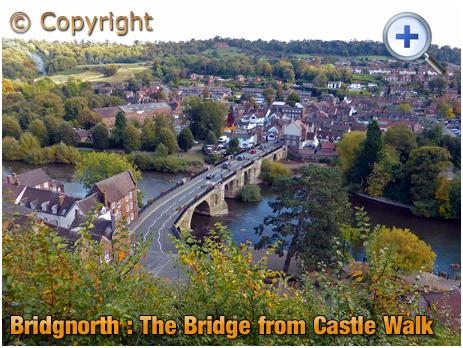 Bridgnorth : Bridge spanning the River Severn [2005]