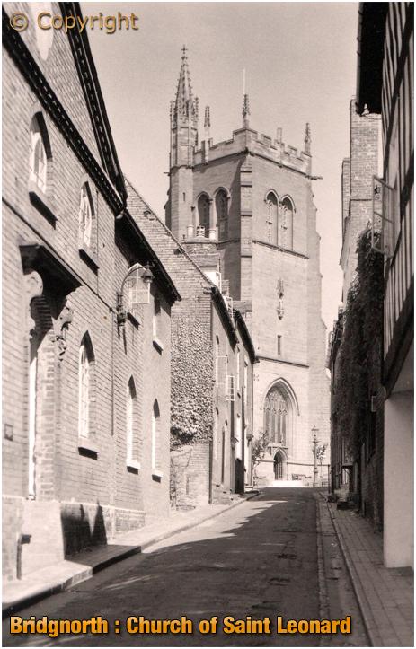Bridgnorth : Church of Saint Leonard [c.1935]