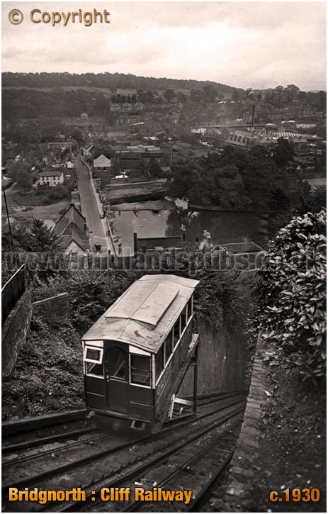 Bridgnorth : Cliff Railway [c.1930]