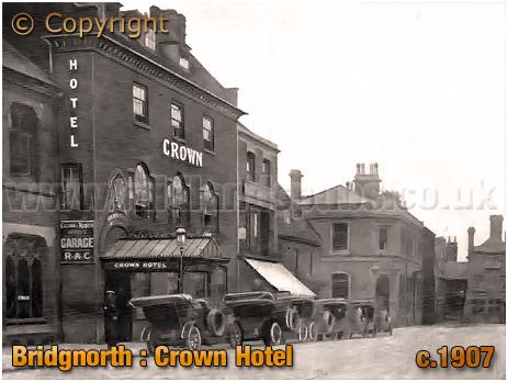Bridgnorth : Crown Hotel [c.1907]