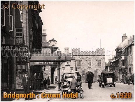Bridgnorth : Crown Hotel [c.1928]