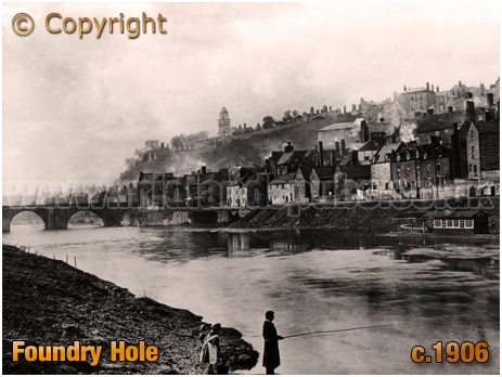 Bridgnorth : Foundry Hole [c.1906]