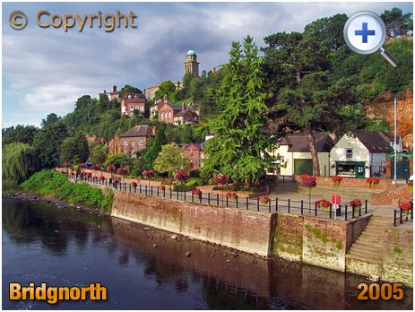 Bridgnorth : Bridgnorth from the Bridge [2005]