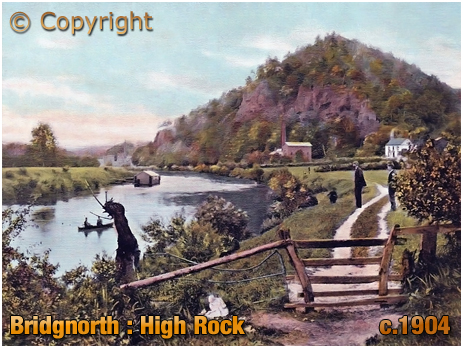 Bridgnorth : High Rock [c.1904]