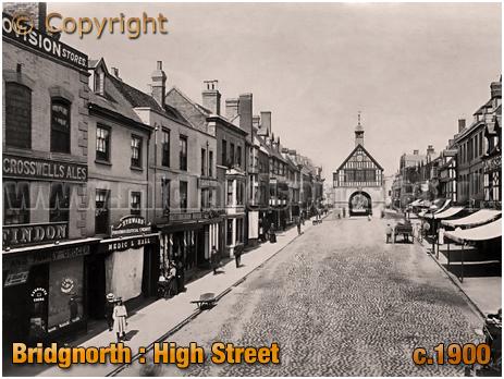 Bridgnorth : High Street [c.1900]